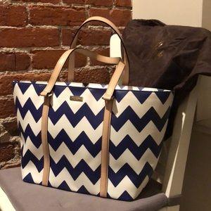 Kate Spade Chevron Tote Bag